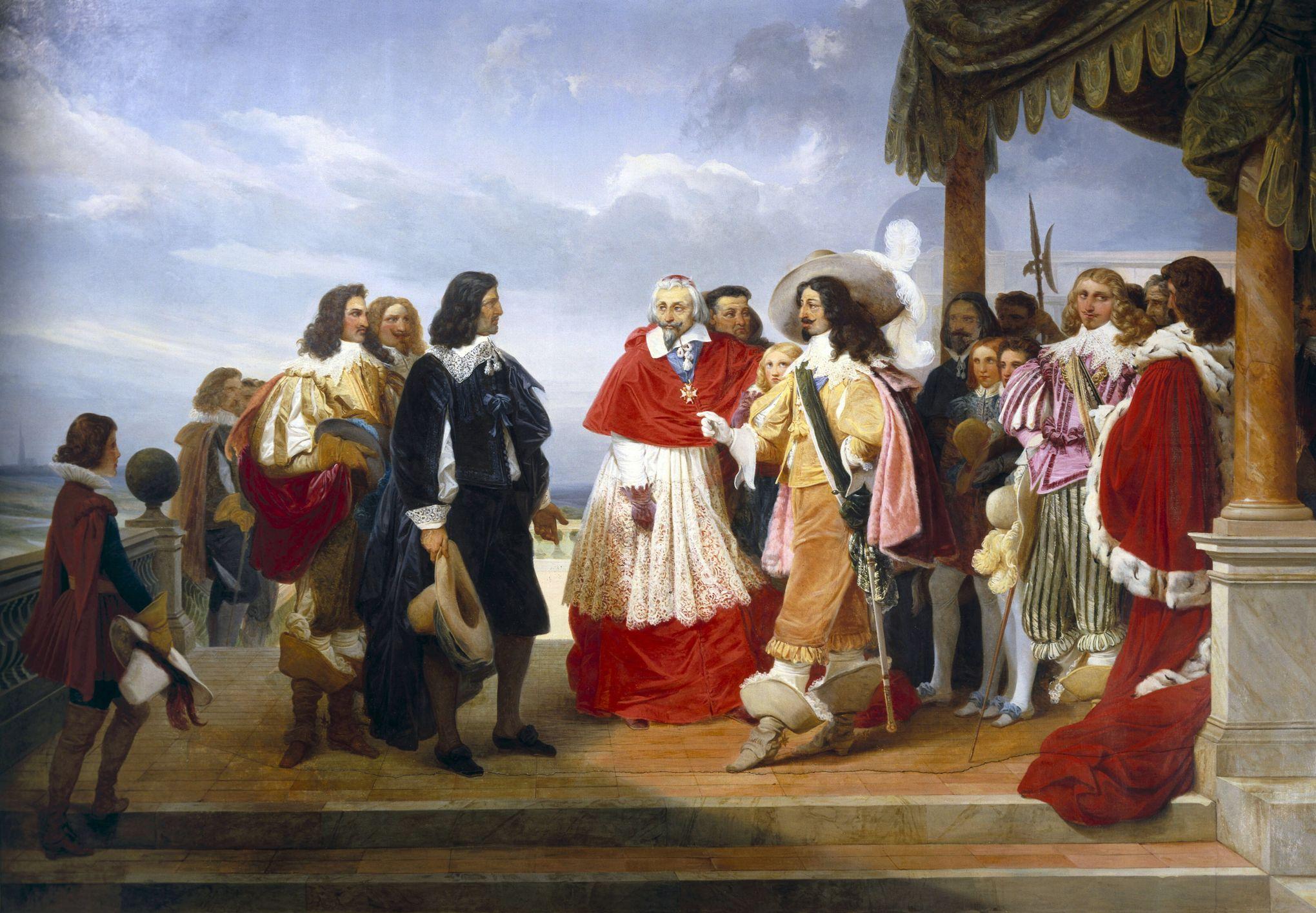 Quân sư đỏ – Hồng y Thủ tướng De Richelieu – Vị thủ tướng đầu tiên của thế giới