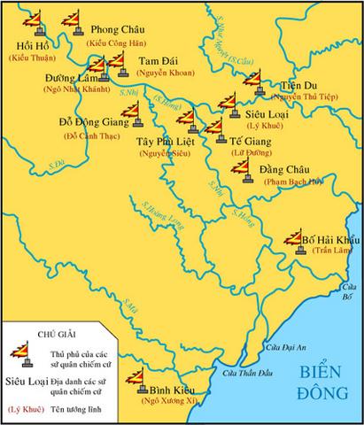 Ngô Quyền - Đinh Bộ Lĩnh dẹp loạn 12 sứ quân