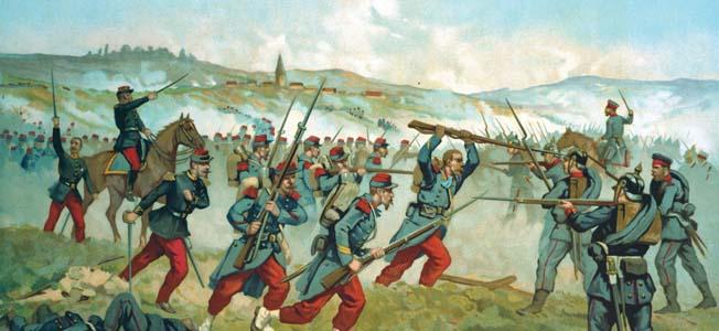 Trận SEDAN - Chiến tranh Pháp Phổ 1870
